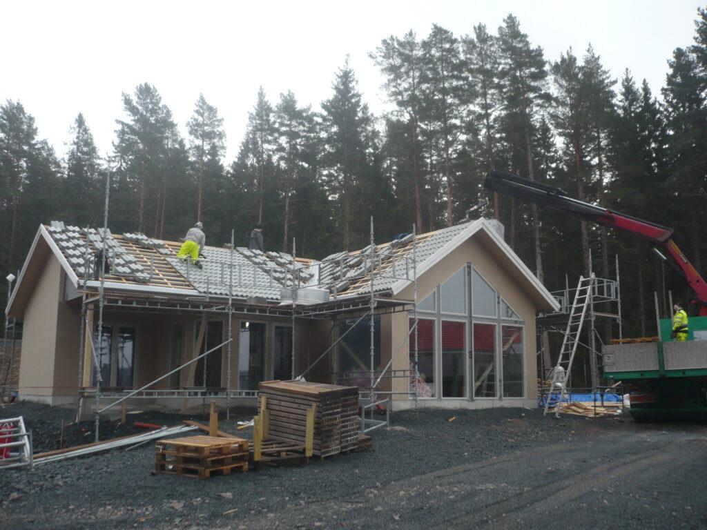 Nybyggnation, Saxabäcken på Torpön